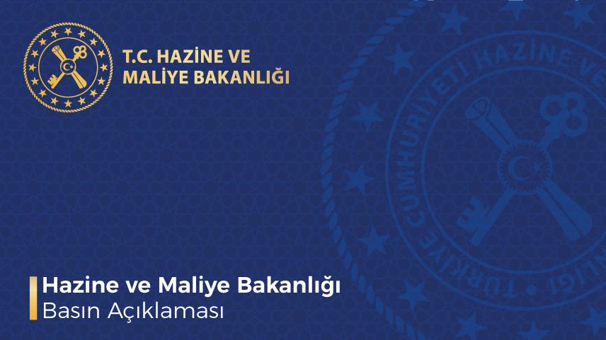 Hazine ve Maliye Bakanlığı'ndan kripto para için basın açıklaması